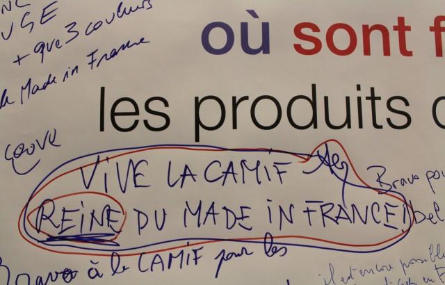 Les petits mots des politiques et des acteurs du made in France