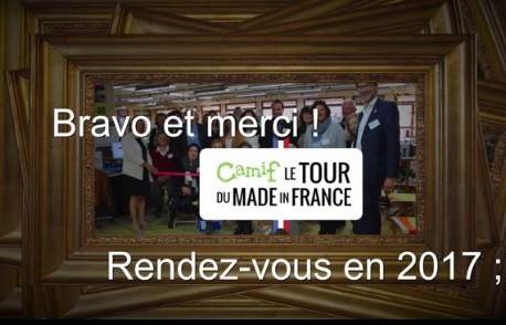 Les meilleurs moments du Tour du Made in France Camif 2016