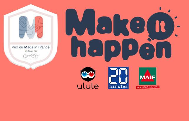 Découvrez les lauréats du Make it Happen soutenu par Camif