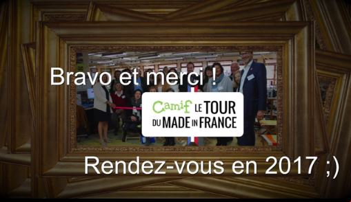 Les meilleurs moments du Tour du Made in France Camif 2016